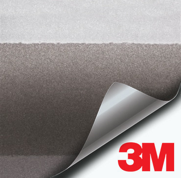 3M Gloss Anthracite Charcoal Metallic vinyl wrap