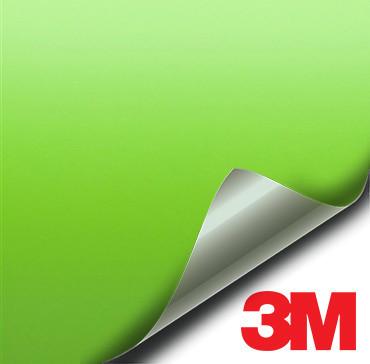 3M Matte Apple Green vinyl wrap