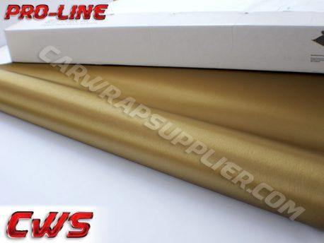 Brushed Aluminum Gold Vvivid Vehicle Vinyl Film