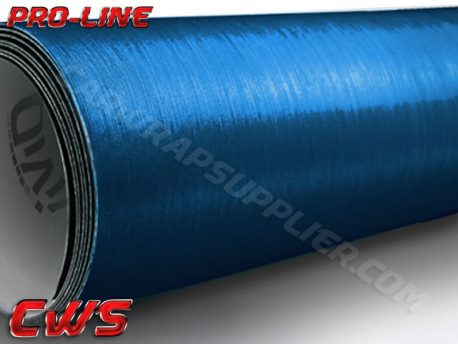 Brushed Aluminum Metallic Blue Vvivid Vehicle Vinyl Film