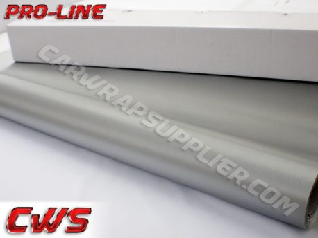 Brushed Aluminum Silver Vvivid Vehicle Vinyl Film