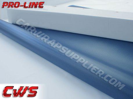 Navy Blue Carbon Fiber Car Wrap Vinyl Film