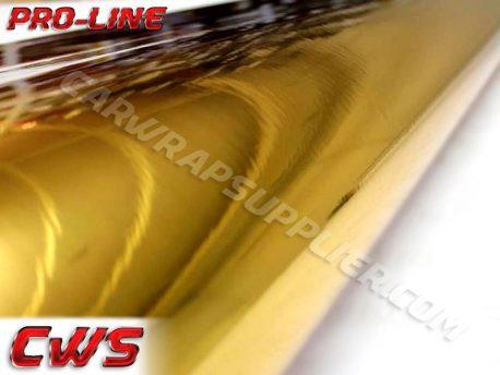Gold Chrome Vehicle Vinyl Film