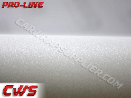 Diamond Sanding White Vehicle Vinyl Film