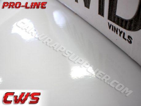 Pro-line Gloss White Car Wrap Vinyl Film