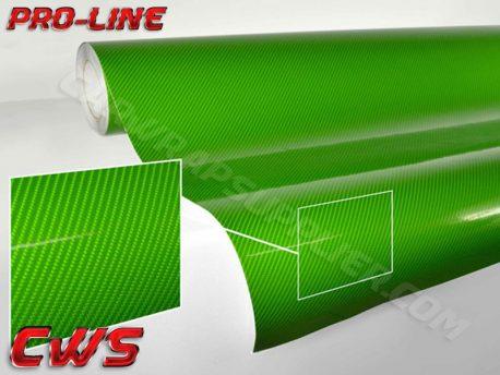 Green Tech Art Carbon Fiber Car Wrap Vinyl Film