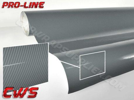 Gunmetal Gray Tech Art Carbon Fiber Car Wrap Vinyl Film