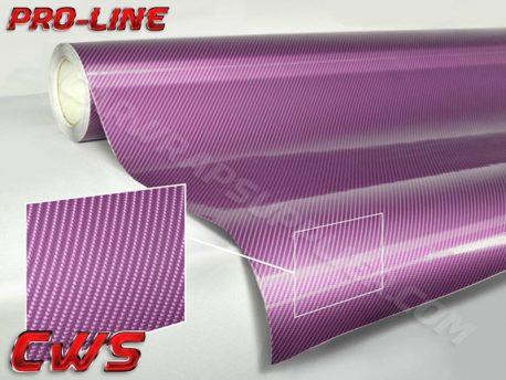 Purple Tech Art Carbon Fiber Car Wrap Vinyl Film