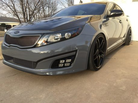 Premium Plus Gloss Slate Gray car wrap vinyl film