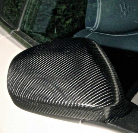 Black TrueR Carbon Fiber Car Wrap Vinyl Film