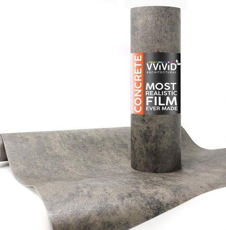 Architectural Concrete Dark Contact Film