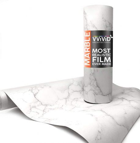 Architectural Carrara Matte White Contact Film
