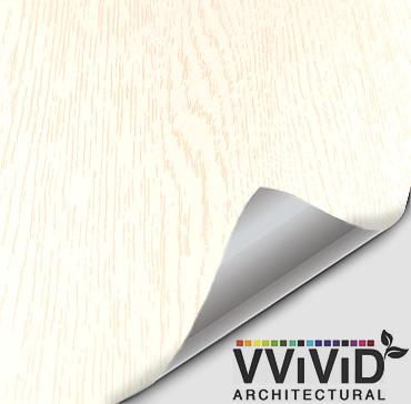 Architectural Unicorn White Wood Contact Film