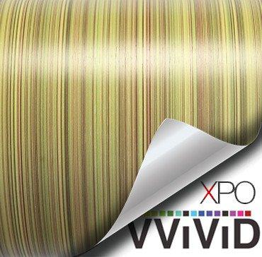 lined oak architectural wood grain vinyl wrap