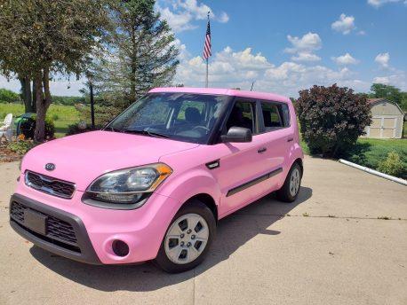 Pro-line Gloss Pink Car Wrap Vinyl Film