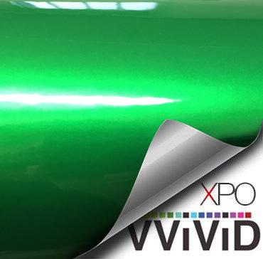 Liquid Metal Green vinyl wrap