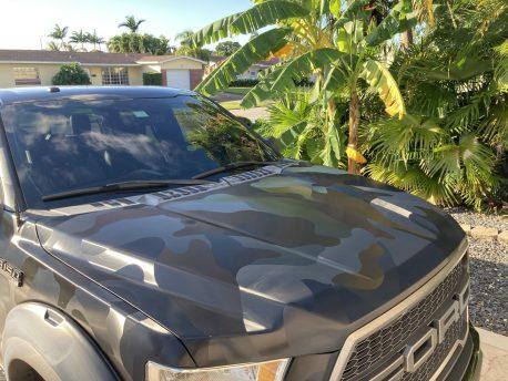 Black Stealth Camouflage Large