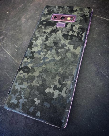 Black Stealth Camouflage Micro