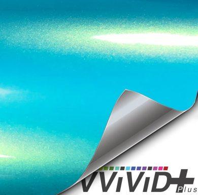 Premium Plus Voltage Blue Gloss car wrap vinyl film