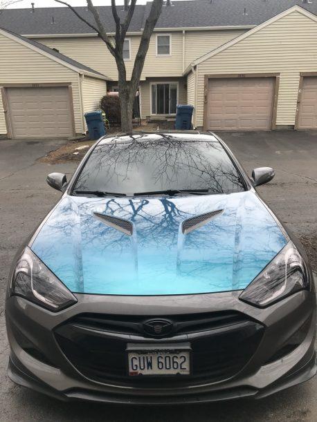 Premium+ Gloss Metallic Nightshade Goblin Blue car wrap vinyl