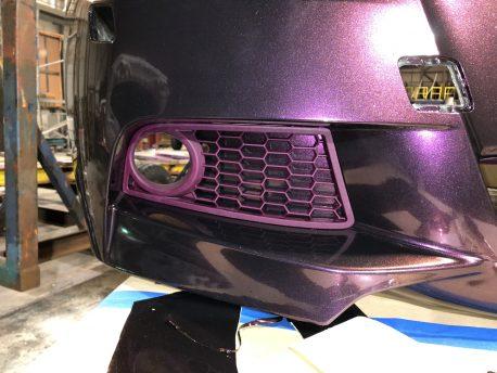 Premium+ Gloss Metallic Nightshade Purple car wrap vinyl