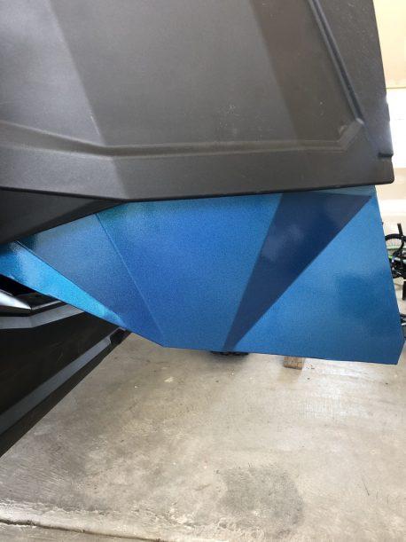 Premium+ Gloss Metallic Psycho Blue car wrap vinyl