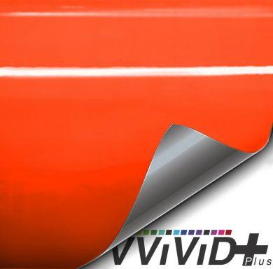 Premium Plus Gloss Lamborghini Orange car wrap vinyl film