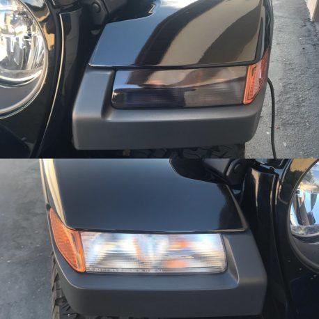 Dark Smoked Head light Tail light Tint for cars
