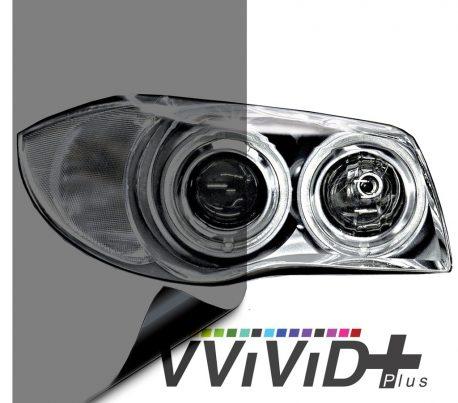 Light Smoked Headlight Tint for cars