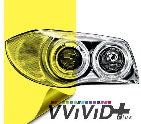 Yellow Headlight Tint for cars