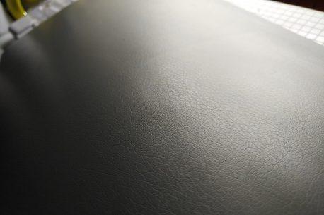Silver Leather Vehicle Vinyl Film