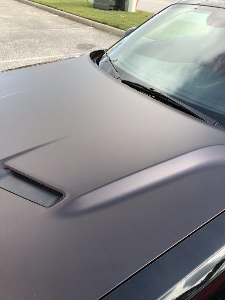 Premium Plus Black Demon Matte car wrap vinyl film