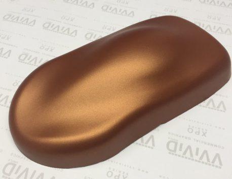 Premium Plus Matte Metallic Copper Ghost car wrap vinyl film