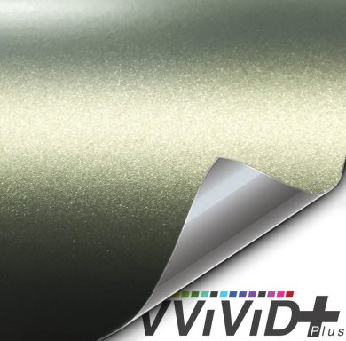 Premium Plus Matte Metallic Military Green Ghost car wrap vinyl film
