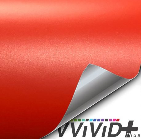 Premium Plus Matte Metallic Blood Orangecar wrap vinyl film