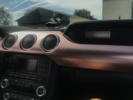 Premium Plus Satin Rose Gold car wrap vinyl film