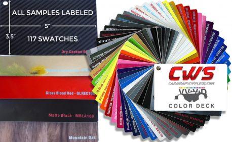 CWS Sample Book Pro-line XPO