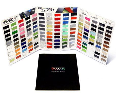 Vinyl Wrap Sample Booklet - Pro-line XPO and Premium Plus